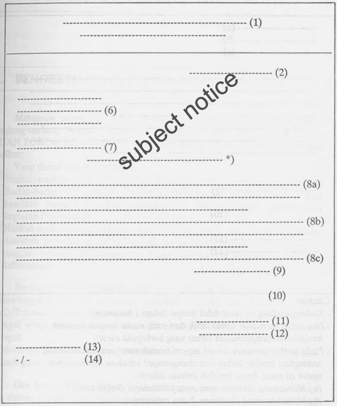 contoh isi surat bentuk lurus penuh surat 35